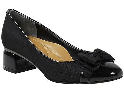 J. Renee Gelar (Black Gross Grain) High Heels