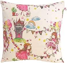 2 Stück Kopfkissenbezug Kissenbezug 40x80 cm Rosa Pink Kariert 100/% Baumwolle