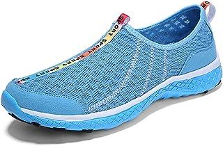 c572318647798 Monrinda - Zapatos de Secado rápido para Hombre con Zapatos de Agua para  Caminar Ligeros