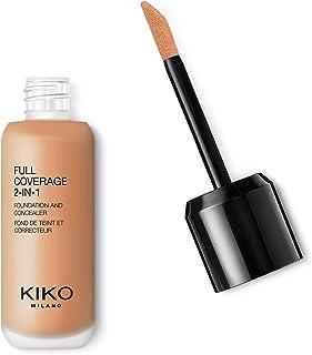 KIKO Milano Full Coverage 2-in-1 Foundation & Concealer 11 - N 60, 2 in 1 foundation en concealer, hoge dekking, neutral 60