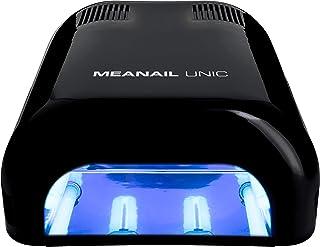 Lampara LED UV Secador De Uñas Para Esmalte Semipermanente Gel De Uñas Pintauñas Potencia 36W Unic Black