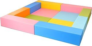 キッズコーナー?バンビシリーズ 2畳プランA 子供の遊び場/カラーパステルタイプ