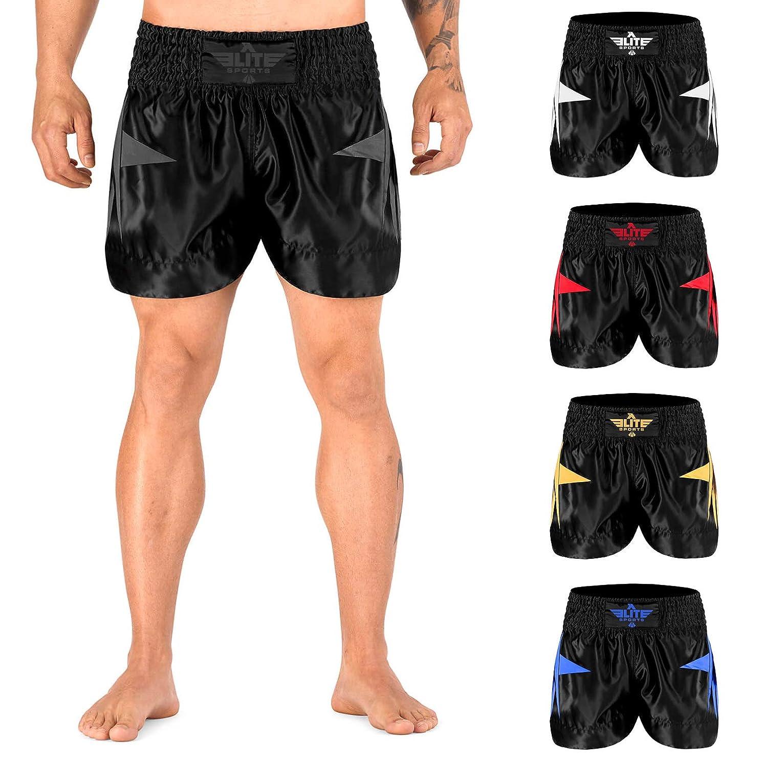 Elite Sports Men's Advanced Muay Thai Shorts