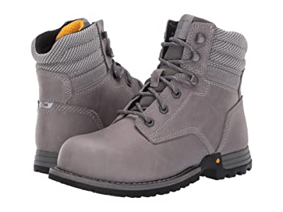 Caterpillar Paisley 6 Steel Toe (Dolphin Full Grain Leather) Women