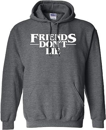 bd0d9aaee41e8c NuffSaid Strange Friends Don't Lie Premium Hooded Sweatshirt Pullover  Sweater Jumper Hoodie - Unisex