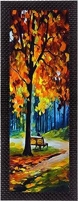 eCraftIndia 'Scenic View' UV Art Painting (Synthetic Wood, 18 cm x 41 cm, Satin Matt Texture)