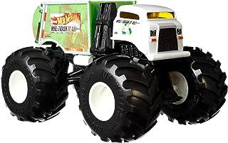 Hot Wheels Monster Trucks 1:24 Scale Assortment, Will Trash It All