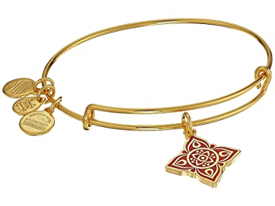 Alex and Ani The Root Chakra Bangle (Shiny Gold) Bracelet