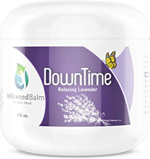 Milkweed Oil Balm for Pain Relief – Relaxing Lavender Infused Topical Cream for Soothing Arthritis, Muscles & Inflammation...