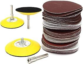 3 inch 75mm 60 stks schuurpad polijsten grit disc polijsten schuurpapier schacht set power tools accessoires abrasive tool...