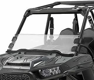 Orion Motor Tech UTV Half Windshield, Compatible with Polaris Razor, 15-18 RZR 900, 15-18 RZR 4 900, 15-18 RZR S 900, 15-18 RZR XC 900, 14-18 RZR 1000, 16-18 RZR S 1000, 16-18 RZR XP Turbo, 14-18 RZR
