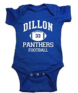 Friday Night Lights Baby One Piece Dillon Panthers Football Bodysuit