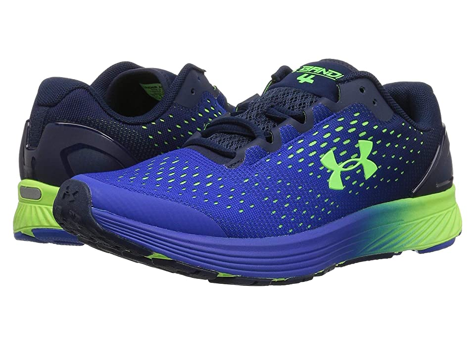 Under Armour Kids UA BGS Charged Bandit 4 (Big Kid) (Team Royal/Academy/Hyper Green) Boys Shoes