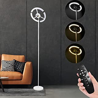 Lampadaire LED 14W RVB Lampadaire Sur Pied avec Télécommande 3600LM Dimmable Moderne Lampadaire Liseuse 180CM 3000-6500K, ...