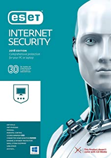 ESET Internet Security 2019 | 3 PC's | 2.5 Years Subscription | PC | Registration Code- NO CD