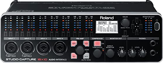 Roland STUDIO-CAPTURE 16-input, 10-output Hi-speed USB Audio Interface (UA-1610)