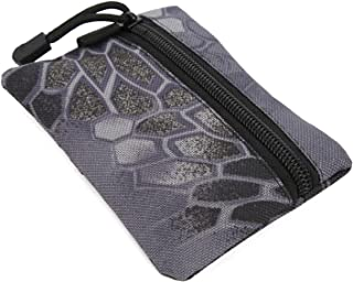 Jiawu Portefeuille Militaire, EDC Wallet American Pattern Tissu Oxford Portable imperméable pour Le Transport Quotidien