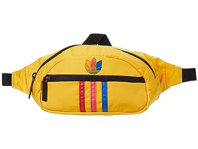 adidas Originals Originals National 3-Stripes Waist Pack (Active Gold/Multi) Bags