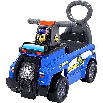 Jakks 41872 - Rutscherfahrzeug Paw Patrol, Chase Cruiser Polizei, mit Sound- und Lichtfunktion, Staufach im Sitz, für Kinder von 12 Monaten bis 3 Jahre, ab 70 cm Körpergröße