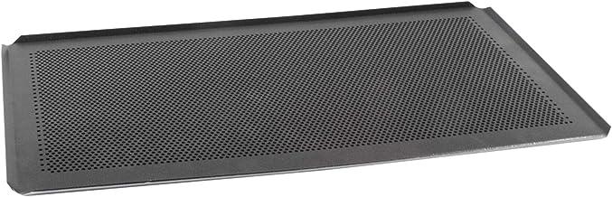 AMT Gastroguss GN 1/1 Backblech - Set, 53 x 32,5 cm, gelocht, beschichtet, Aluminiumguss, Lotan Antihaft-Beschichtung, bestehend aus 2 Backblechen AMZN-5333BBL-1