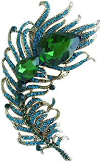 Best art deco peacock brooch Reviews