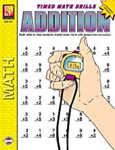 Timed Math Drills: Addition | Reproducible Activity Book