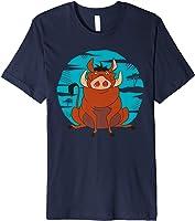 Disney The Lion King Happy Pumbaa T-Shirt