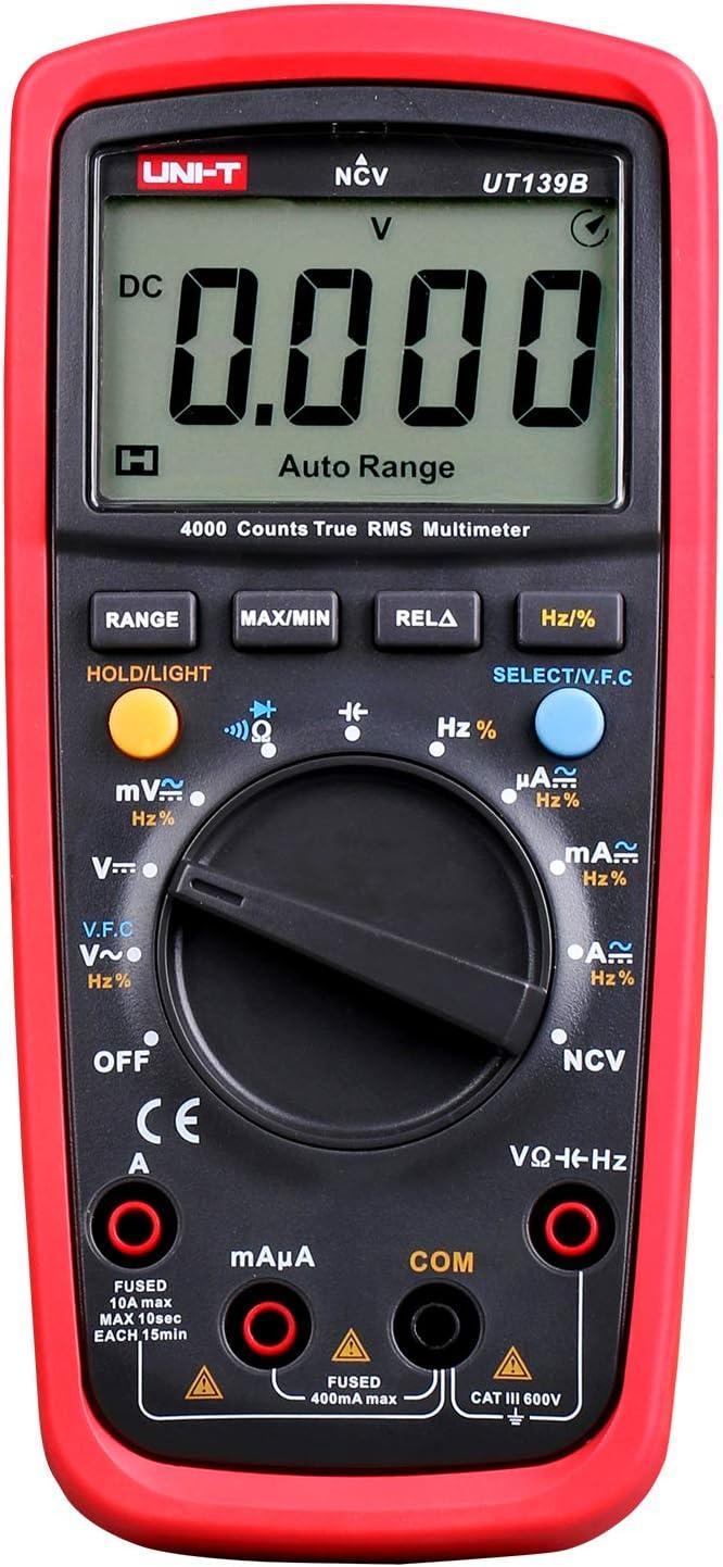 UNI-T True Free shipping New RMS Digital Multimeter Auto 4000 Manual UT139B Range Ranking TOP16