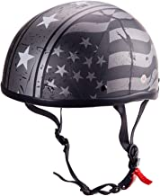 STARMOON Adult Skull Motorcycle Helmets, Moped Helmets, Half Shell Helmets are DOT Certified Unisex Classic Style, Various...