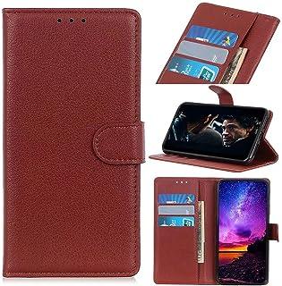 Samsung Galaxy S22 Ultra etui, odporne na wstrząsy skórzane etui z klapką na telefon notebook folio wąski magnetyczny pokr...