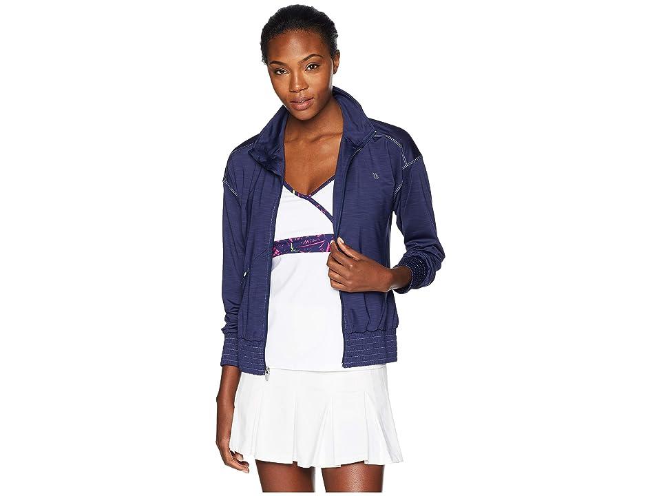 Eleven by Venus Williams On Track Jacket (Blue Nights) Women's Coat