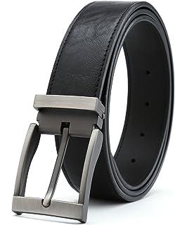 "Gurscour Men's Belts Dress Leather Belt for Men 1.4""(35mm) Width"