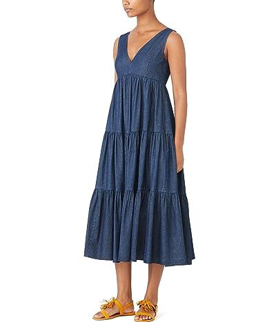 Kate Spade New York Chambray Vineyard Midi Dress