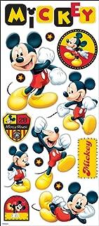 Disney EK Success 53-60006 Large Flat Stickers, Mickey