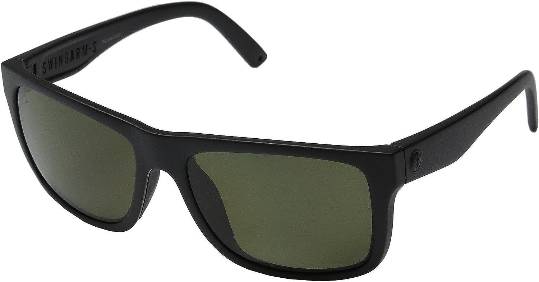 Electric Swingarm S Sunglasses Matte Black with OHM Grey Polarized Lens