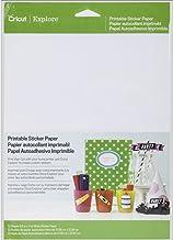 cricut 2002530 Printable Sticker Paper for Scrapbooking