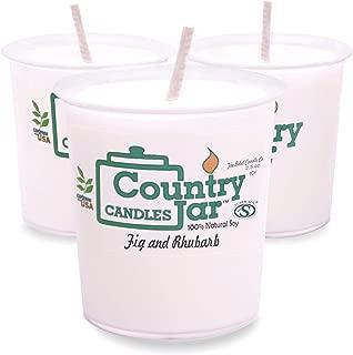 Country Jar Frankincense and Myrrh Votive Sampler (3-Pack) 100% Natural Soy (3 OR More Sale!)