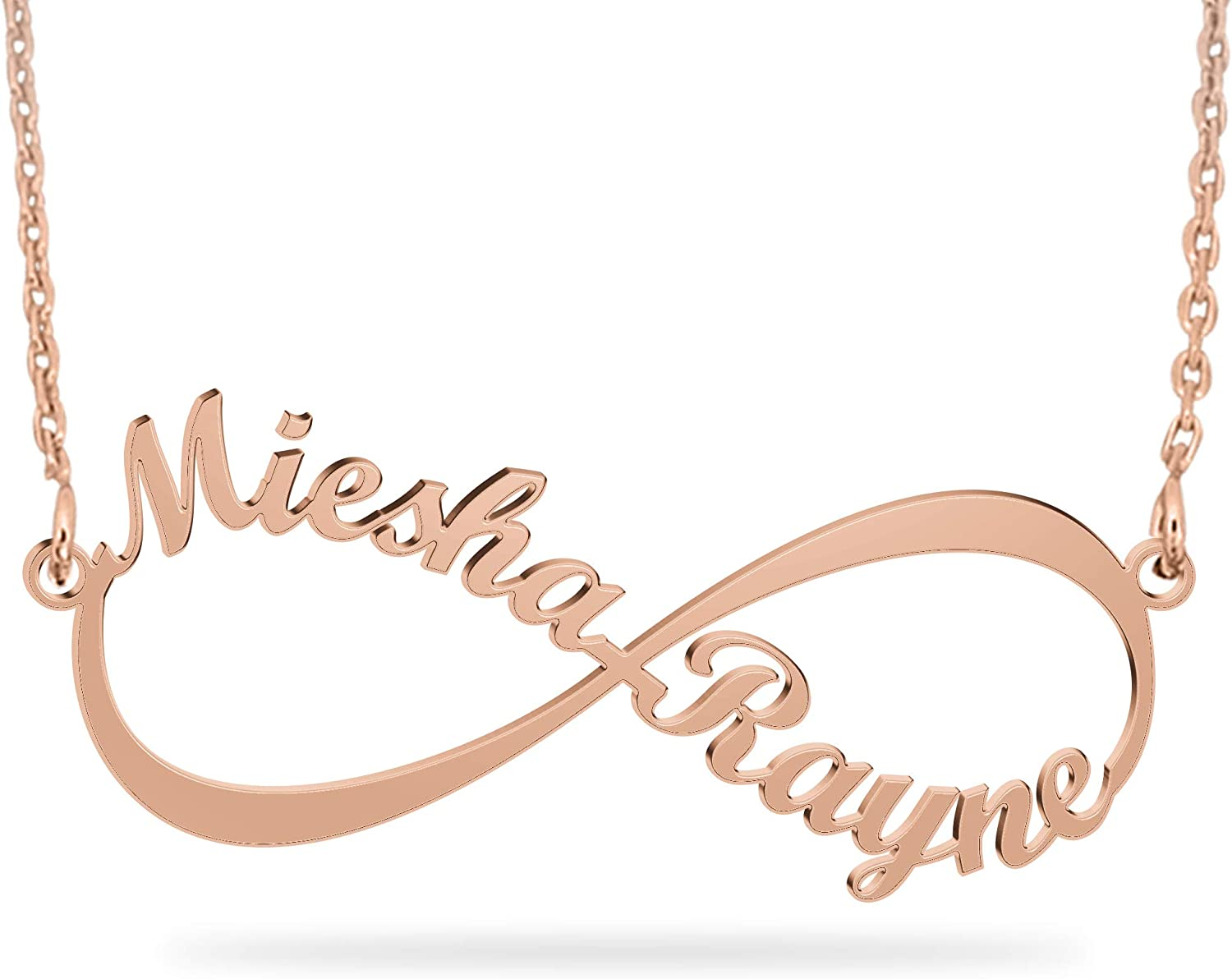 Joelle Jewelry Design Personalized Rose Fixed price for sale Infinity Na Ranking TOP16 Eternal Gold