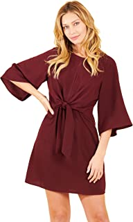 TRULY ME, Women's All Ocassion/Office A-line, Flare, Skater Skirt Dress