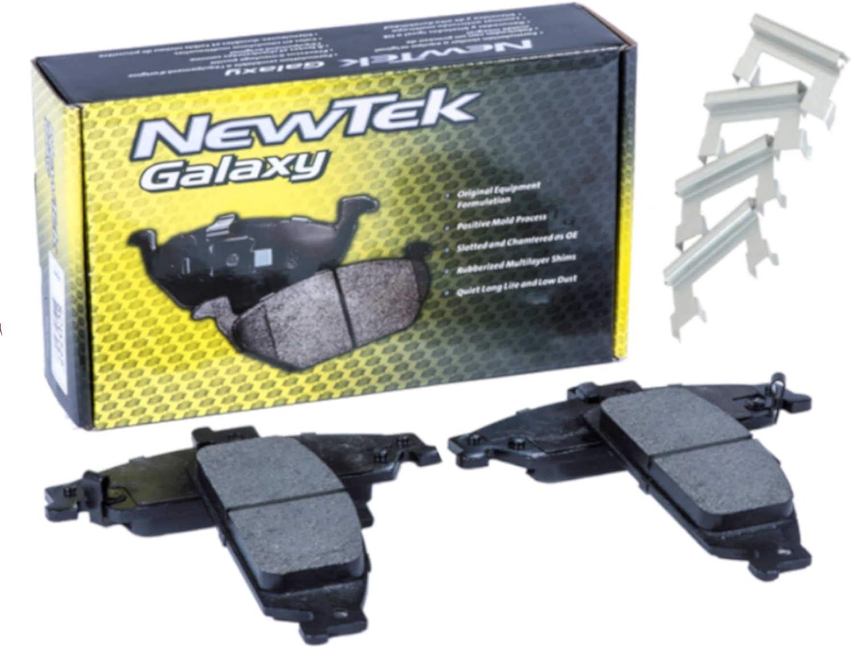 SCD682H Front Ceramic 国内送料無料 贈答 Brake and Hardware Pads
