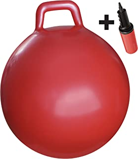 WALIKI Red Adult Hopper Ball | Age 13-101 | Hippity Hop | Jumping Ball | Hopping Ball | Sit & Bounce