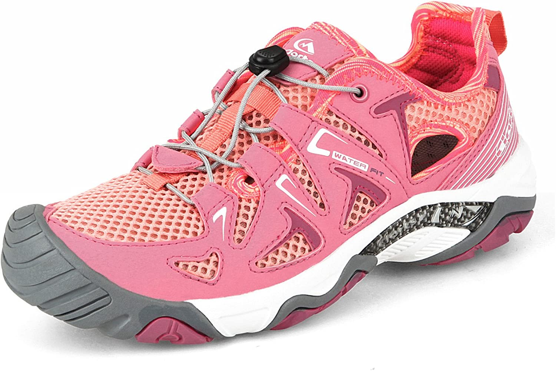 Clorts Women's Water shoes Athletic Lightweight Kayaking Hiking Walking Sneaker 3H027