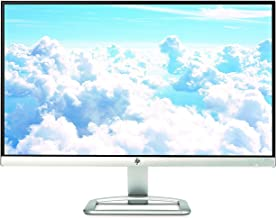 HP 23er 23-inch Full HD (1920 X 1080) IPS LED Backlit Zero Bezel Monitor with HDMI & VGA Port (T3M84AA#ABA, White) - T3M76AA#ABA