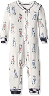 PJ Salvage Kids Baby Kids Peachy Huskies Romper