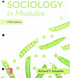 Gen Combo Looseleaf Sociology in Modules; Connect Access Card