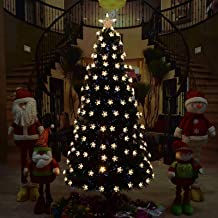 Led Christmas Tree, Artificial Pre Lit Xmas Tree Perfect for Indoor and Outdoor Holiday Decoration Home Ornament for Home ...
