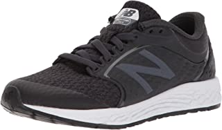 New Balance Boys' Zante v4 Running Shoe, Black/White