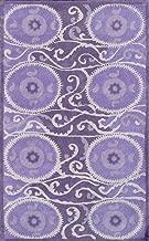 Camden Collection Suzani Tile Lavender 1039;x1339; Area Rug