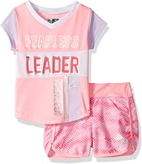 RBX Girls' Active Top and Short Set