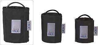 MDF® Muslo - Un tubo - Anilla en D Manguito sin látex para presión arterial - Negro (MDF2090471D-11)